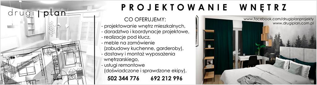 Projektowanie wnętrz - Drugi Plan Warszawa
